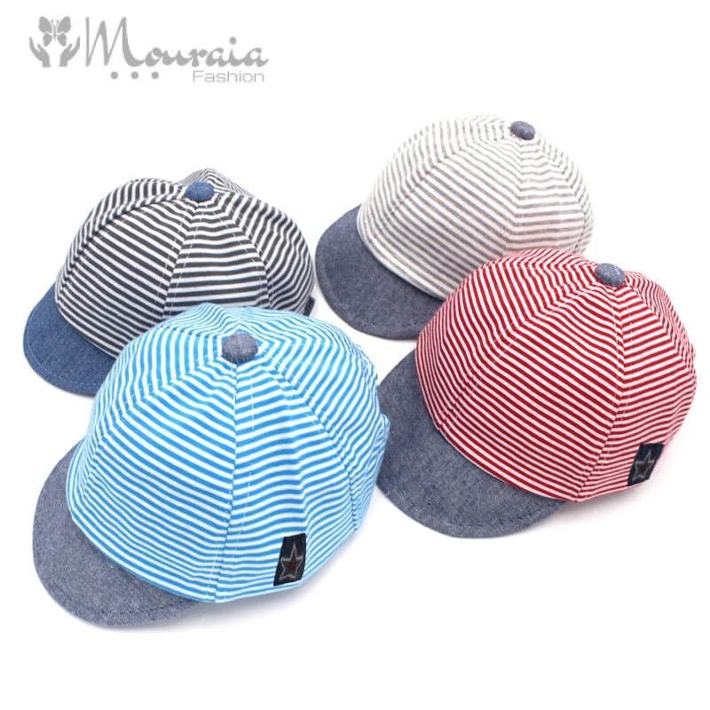 Adjustable Cotton Baby Cap