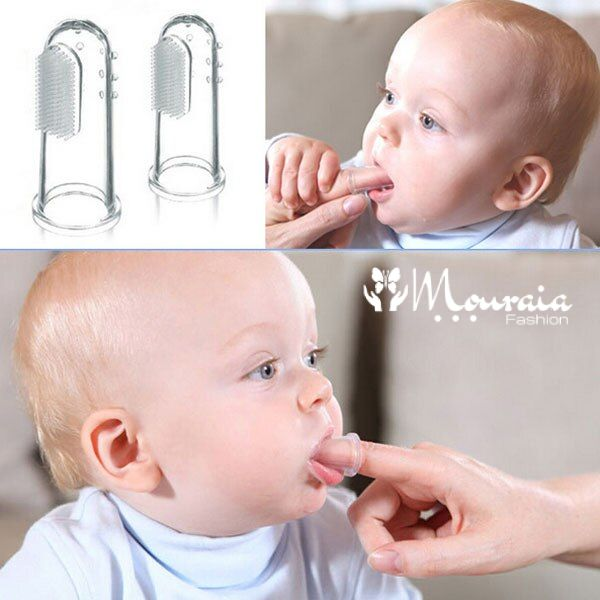 Safe Finger Toothbrush for Babies