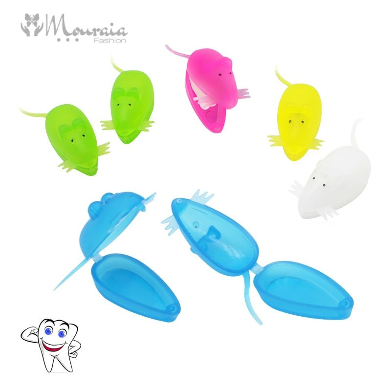 10 Piece Cute Mouse Milk Tooth Box Organizer
