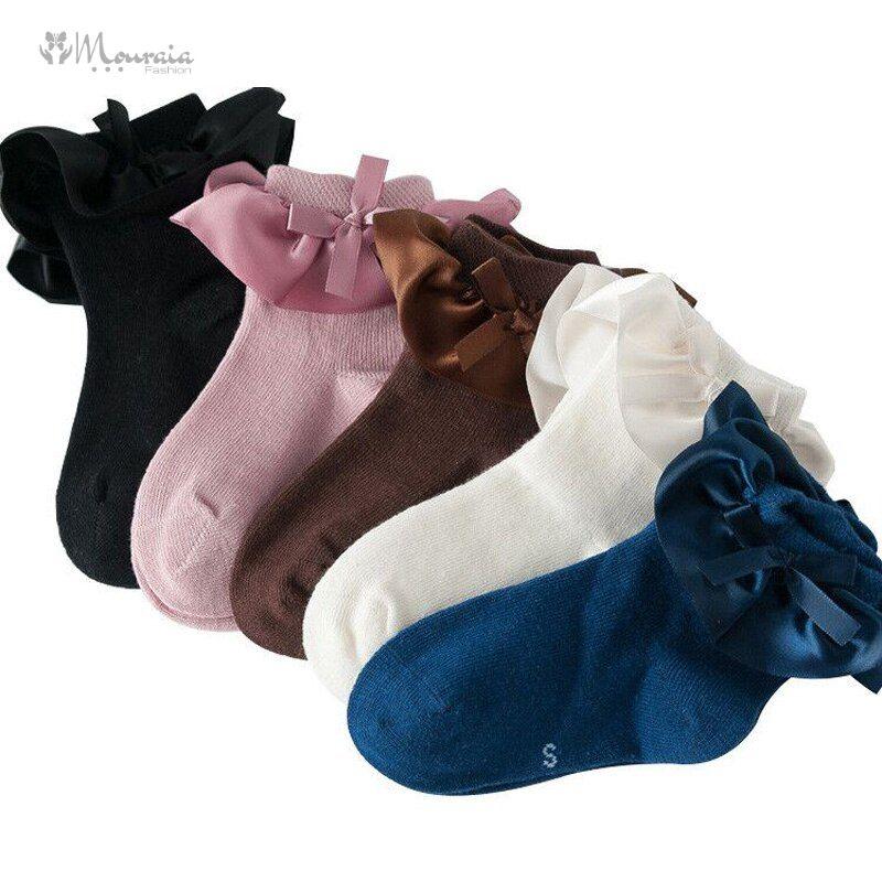 5 Pairs Kids Socks for Girls Princess Lace Dance Girls Socks for Children Summer Cotton Toddler Sock Autumn Winter Baby Socks