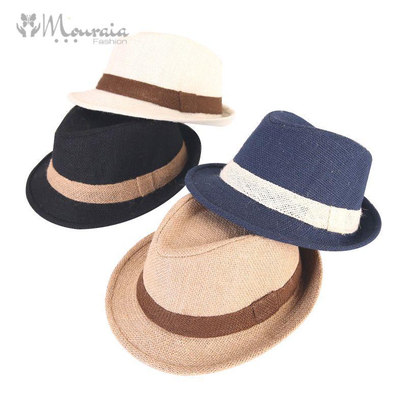 Fashion Baby Hat Summer Autumn Jazz Fedora Cap Baby Boy Hat Beach Kids Cap for Boys Girls Children Hats
