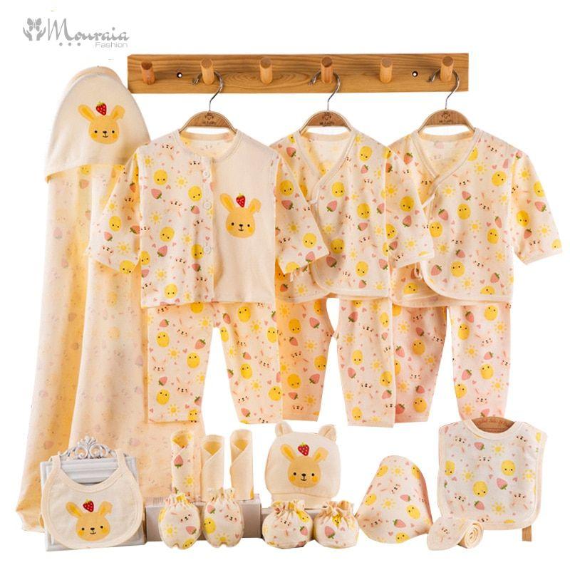 Cartoon Newborn Clothes Baby Set Cute Roupa Infantil New Born Baby Girl Clothes Infant Clothing Baby Boy Outfit Toddler Girl Set