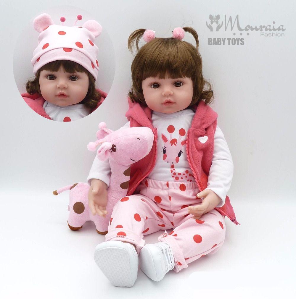Adorable Life Like Baby Girl Fashion Doll
