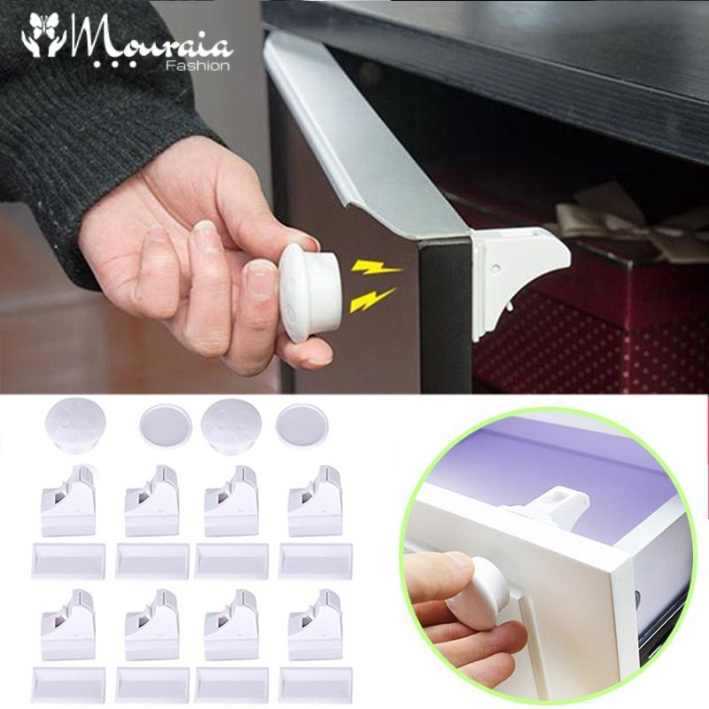 Baby's Magnetic Safety Lock Set