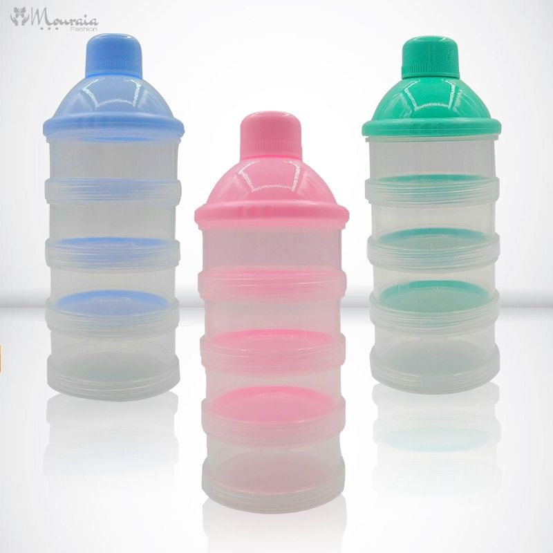 Portable Baby's Formula Storage Containers