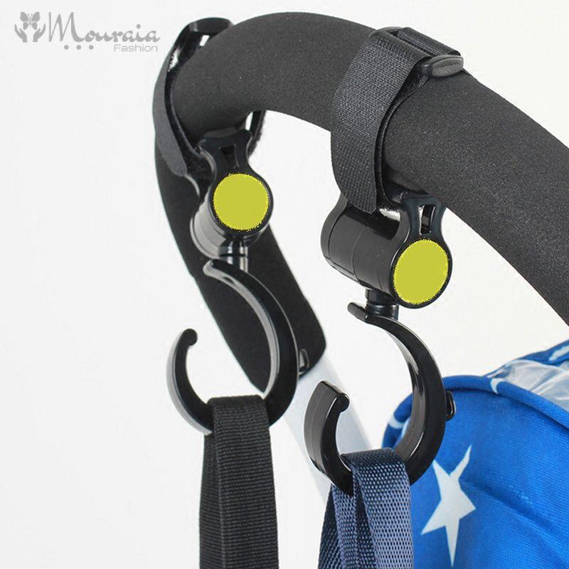 Useful Convenient Multifunctional Baby Stroller Hooks Set