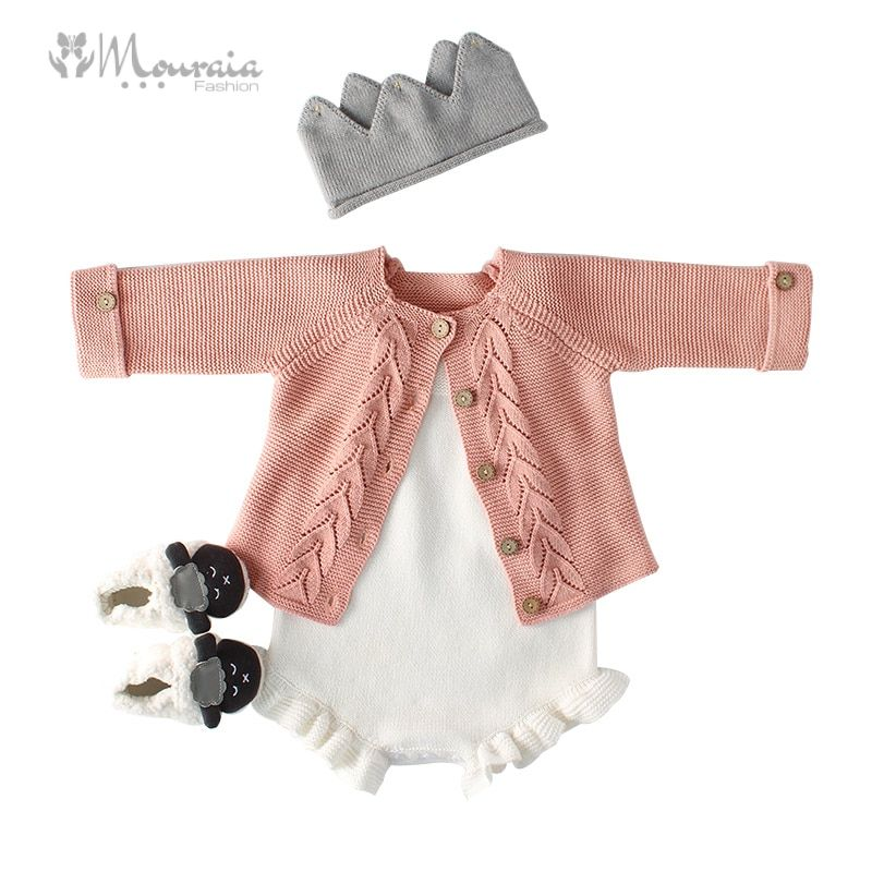 Cotton Knitted Baby Romper for Girls and Boys